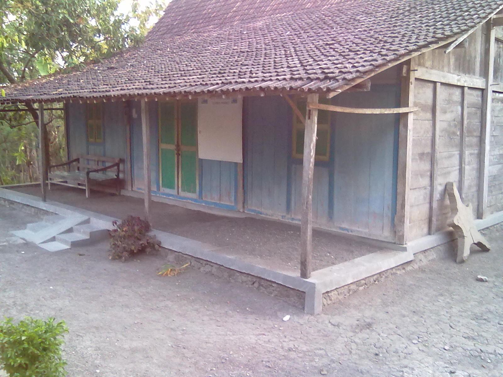 Gambar Teras Rumah Desa Sederhana Dekorhom