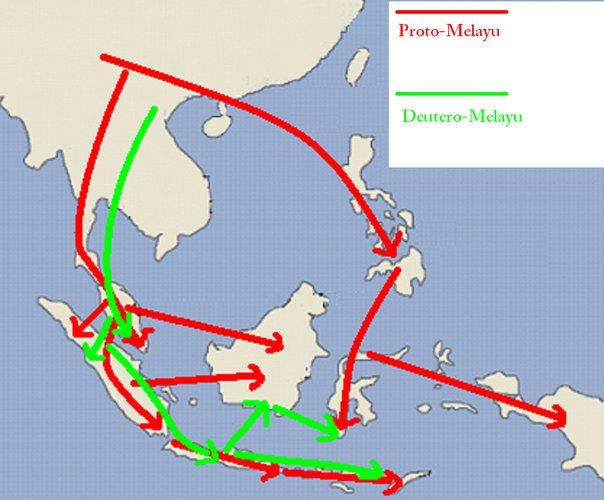 Persebaran Nenek Moyang Indonesia Donipengalaman9