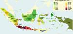 peta penduduk